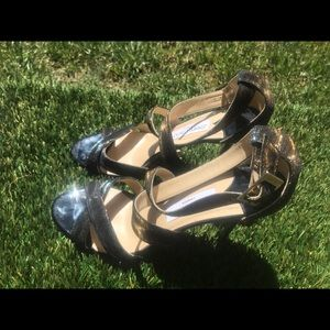 Women's Jimmy Choo Louise Cross Strap Heels sz 9.5